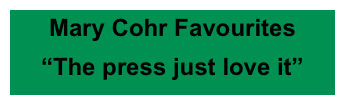 Mary Cohr Favourites